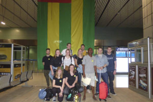 2018 10 stagiaires in Lomé